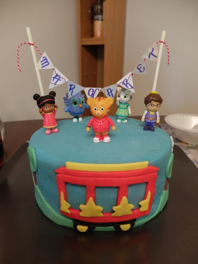 Tiger Birthday Cake Sugar Boles Daniel Tiger Birthday Cake