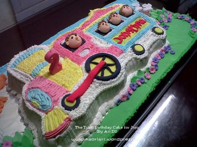 Train Birthday Cakes The Train Birthday Cake Kaoriarikitchen