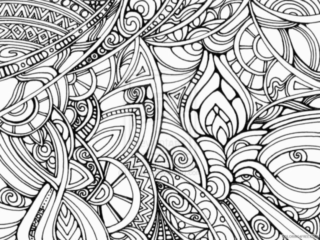 Trippy Coloring Pages Mushroom Trippy Coloring Pages Coloring4free Coloring4free For