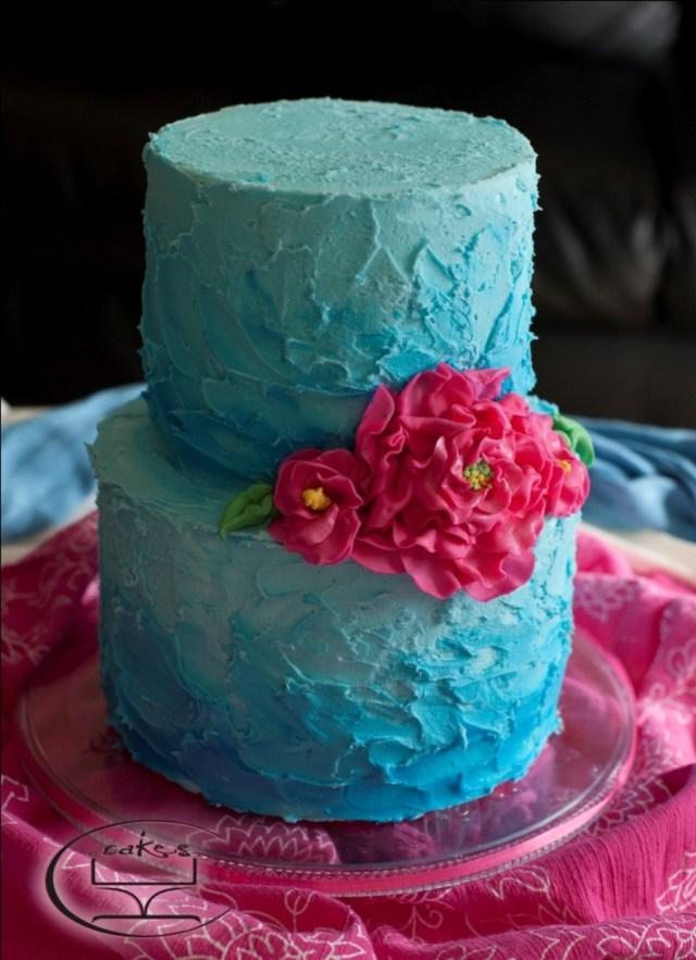Turquoise Birthday Cake 12 Birthday Cakes Pink And Turquoise Photo Turquoise And Pink