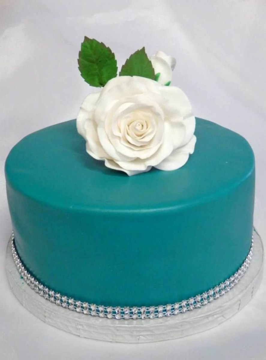 35+ Inspired Image of Turquoise Birthday Cake