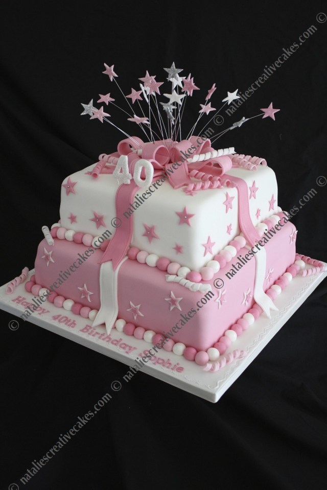 Two Tier Birthday Cake 7 Square Two Layer Birthday Cakes Photo Black And Gold 2 Tier
