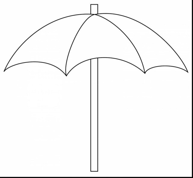 Umbrella Coloring Page Beach Umbrella Coloring Pages Kid Outline Free Printable Coloring