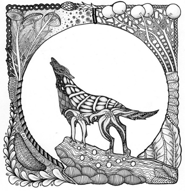 Wolf Coloring Pages For Adults Luxury Wolf Coloring Pages Creditoparataxi