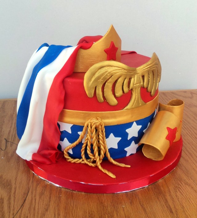 Wonder Woman Birthday Cake 12 Wonder Woman Birthday Cakes Photo Wonder Woman Birthday Cake