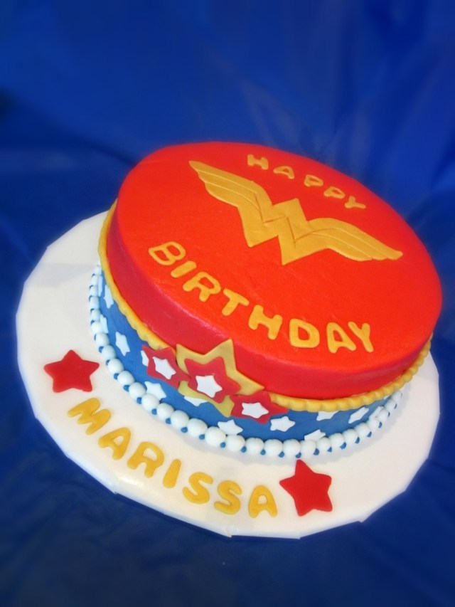 Wonder Woman Birthday Cake Wonder Woman Birthday Cake Cakecentral