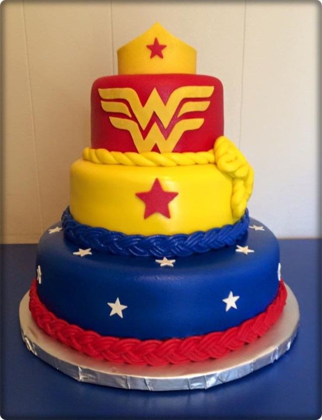 Wonder Woman Birthday Cake Wonder Woman Birthday Cake Cakecentral
