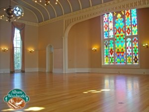Historic renovation- reclaimed heart pine flooring.