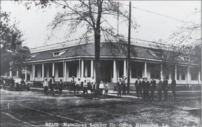 Louisiana sawmill history