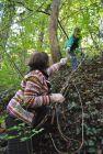Ecologizare în grădina botanică