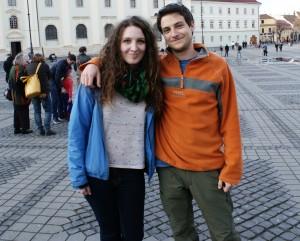 Ale si Tudor in Sibiu