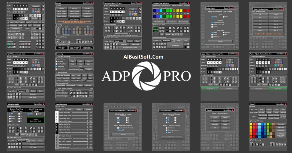 ADP Pro 3.1 for Adobe Photoshop Full Cracked (Windows macOS) Free Download(AlBasitSoft.Com)