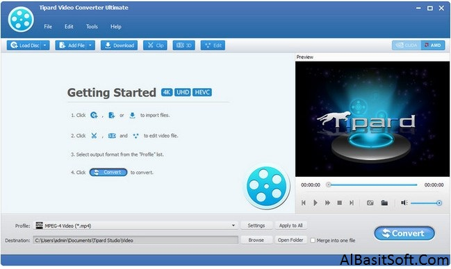 Tipard Video Converter Ultimate 9.2.38 With Crack Free Download(AlBasitSoft.Com)
