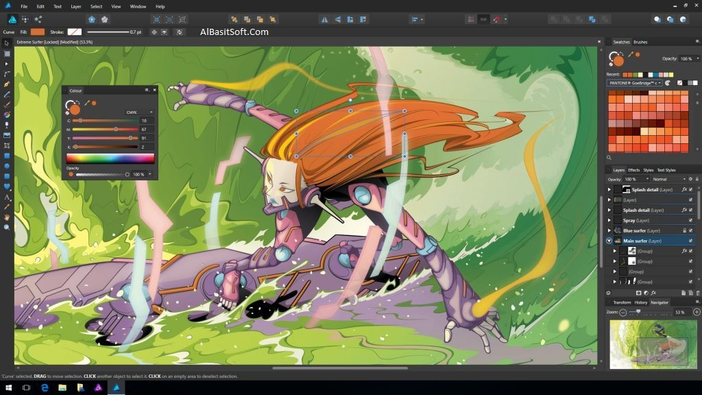 Affinity Designer 1.6.5.112 With Serial Key (x64) Free Download(AlBasitSoft.Com)