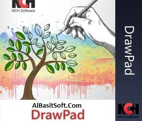 NCH DrawPad Pro 5.16 With Crack Free Download(AlBasitSoft.Com)