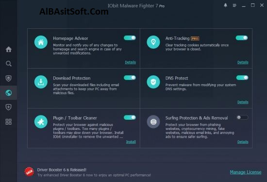 IObit Malware Fighter Pro 7.2.0.5746 With Crack Free Download (AlBasitSoft.Com)