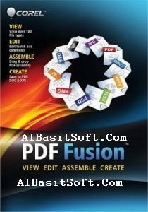 Corel PDF Fusion 1.14 With Crack Free Download(AlBasitSoft.Com)