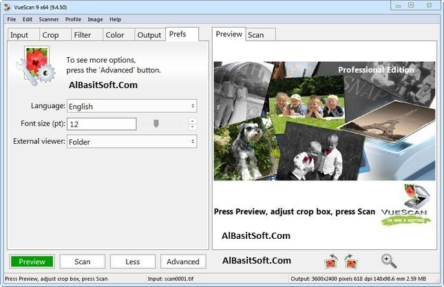 VueScan Pro 9.7.16 With Crack Free Download(AlBasitSoft.Com)
