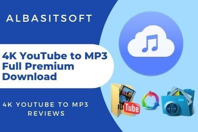 4K YouTube to MP3 Full Premium Download