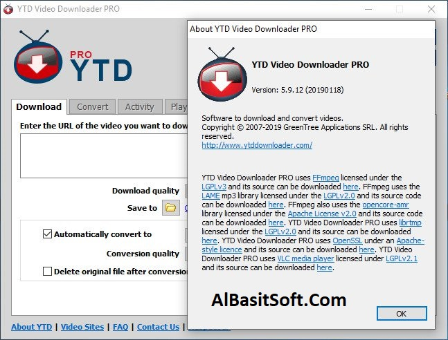 YTD Video Downloader Pro 5.9.18.7 With Crack Free Download