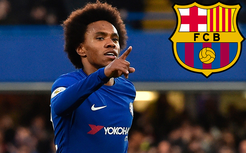 Willian dëshiron t i bashkohet Barcelonës