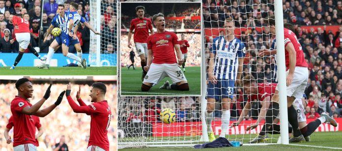 Rasfhord vazhdon të shënojë, United mposht Brightonin në Old Trafford