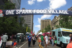 Free Smells! One Spark Food Village.