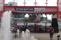 One Spark Music Stage at the Jacksonville Landing.