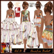 ALB ARMANDE gown w appliers