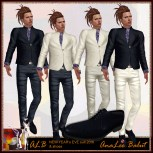 ALB NEW YEARs EVE 2016 suit and shoes