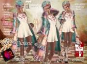 ShuShu YOHO special - coat - dress - boots - cap