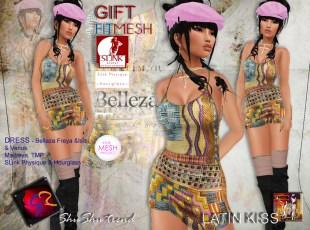 ShuShu LATIN KISS dress group Gift