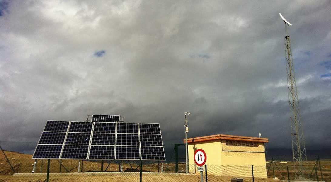 Instalación solar terminada