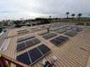 Fotovoltaica en Marquesina de la Gasolinera