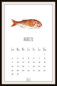 Cuadro calendario 2015 by albë
