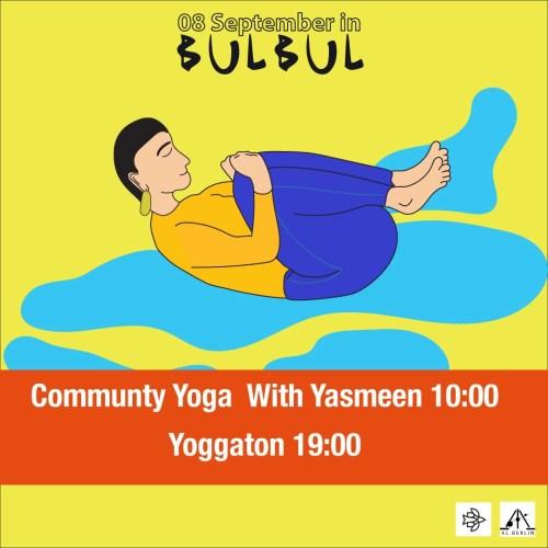 yoga with yasmeen in bulbul