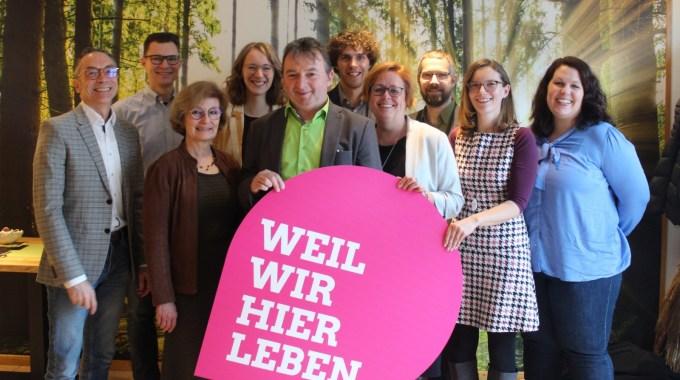 Neujahrsempfang Der Grünen Mit Albert Riedelsheimer