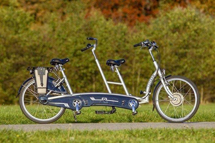 Das Tandem-Fahrrad