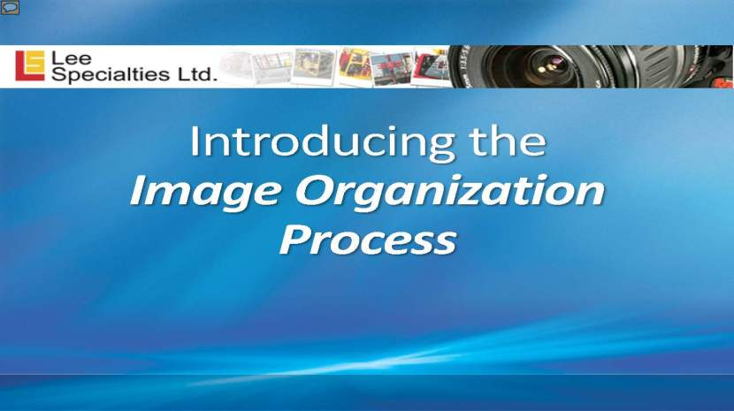 PDF of an Image Organization Process developed for Lee Specialties