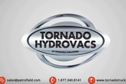 Links to a YouTube video showing Tornado Hydrovacs introduction and exit video