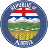 Republic of alberta logo