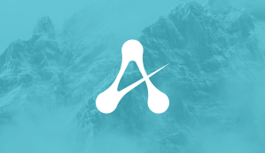 Alberta IoT logo with mountains in background