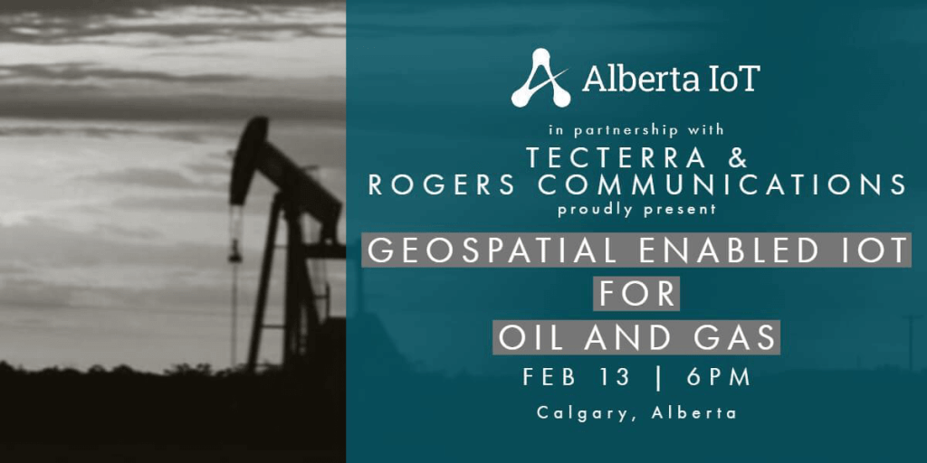 Geospatial Enabled Iot for Oil and Gas Event