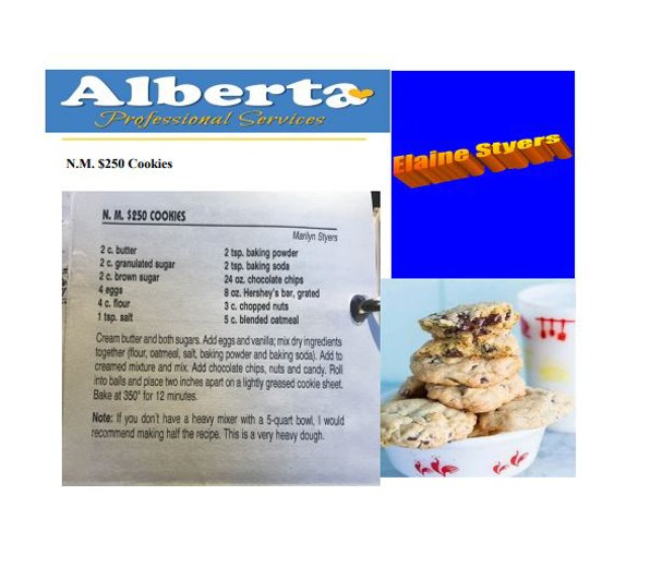 N.M. $250 Cookies