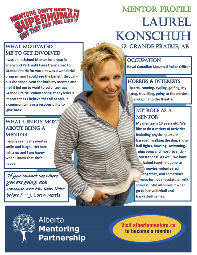 Mentor Profile Laurel Konschuh