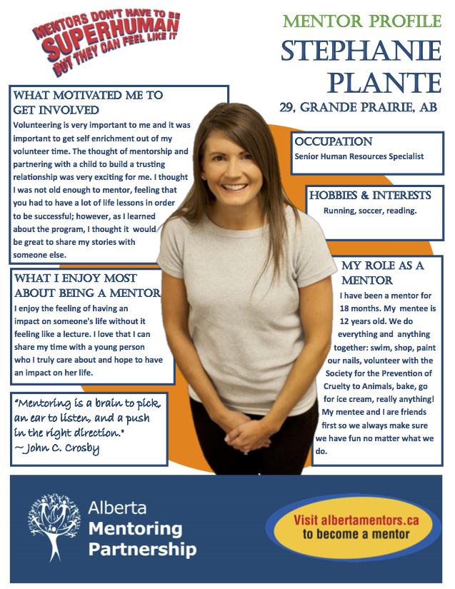Mentor Profile Stephanie Plante