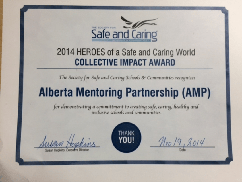 eroes of a Safe & Caring World Collective Impact Award