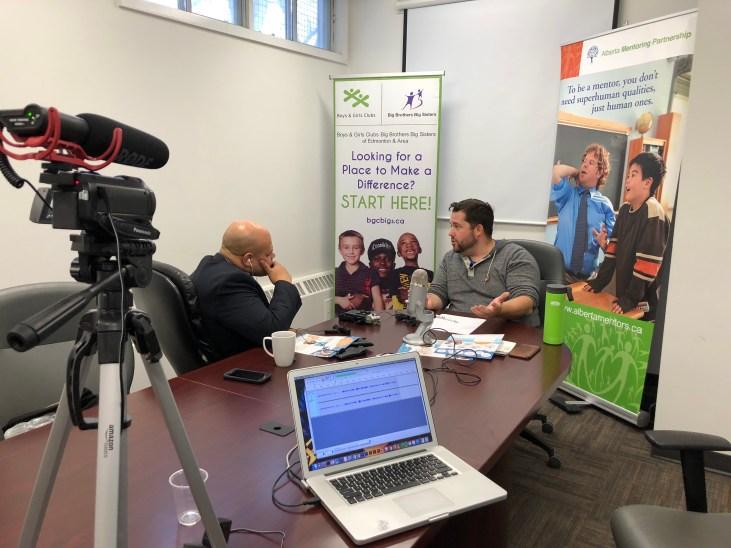 Jami Jivani and the Alberta Mentoring Partnership