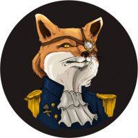 red fox fungi logo