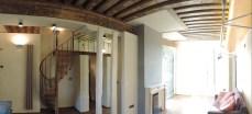 Place des Vosges soggiorno panoramica